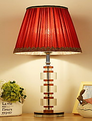 cheap -Artistic Crystal Table Lamp For Crystal 220-240V Red