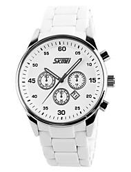 Недорогие -SKMEI Для пары Детские Модные часы Спортивные часы Повседневные часы Китайский Кварцевый Календарь Защита от влаги Повседневные часы
