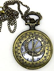 Недорогие -Часы Вдохновлен Воин Conner Аниме Косплэй аксессуары 1 ожерелье Часы Броши сплав цинка