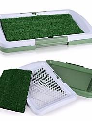 abordables -Chat Chien Couchages Animaux de Compagnie Couvertures Couleur Pleine Lavable Vert Pour les animaux domestiques