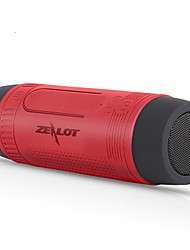 cheap -Zealot S1 Bluetooth Speaker Bluetooth 4.0 USB Outdoor Speaker Dark Green Dark Red Blue Gray Chocolate
