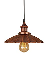 cheap -Retro/Vintage Country Traditional/Classic Pendant Light Bulb Not Included 220-240V 110-120V Anti-Glare Mini Style Eye Protection Ambient