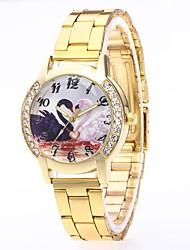economico -Per uomo Per donna Orologio casual Orologio alla moda Orologio da polso Cinese Quarzo N/D Acciaio inossidabile Banda Lusso Colorato
