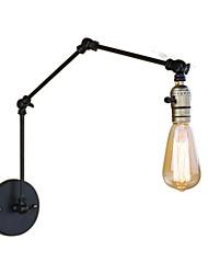 baratos -Retro / Vintage / Regional / Tradicional / Clássico Swing Arm Lights Quarto de Estudo / Escritório / Lojas / Cafés Metal Luz de parede