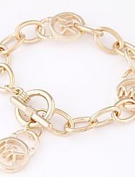 cheap -Women's Cool Charm Bracelet Bracelet - Simple Fashion Geometric Gold Silver Bracelet For Daily Going out