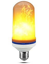 1pc e27 5w led flamme lampen 99led flackern emulation feuer leuchtet dekorative lampe ac85-265v