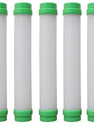 Недорогие -5шт usb привело кемпинг свет портативный ночь лампа фонарик фонарик палатки фонарь аварийного света