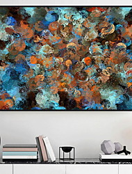 abordables -Bande dessinée Peinture a l'huile Art mural,Alliage Matériel Avec Cadre For Décoration d'intérieur Cadre Art Salle de séjour