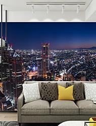 preiswerte -Art Deco Muster 3D Haus Dekoration Moderne Rustikal Modern Wandverkleidung , Leinwand Stoff Klebstoff erforderlich Wandgemälde ,