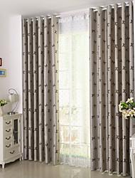 preiswerte -Schlaufen für Gardinenstange Ösen Schlaufen Zweifach gefaltet plissiert Window Treatment Landhaus Stil, Jacquard Blumen Schlafzimmer