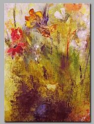 Pintados à mão Abstrato Vertical,Modern Tela Pintura a Óleo Decoração para casa 1 Painel