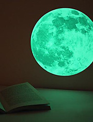 cheap -3D Luminous Planet Wall Stickers World Moonlight Glow In The Dark Moon Earth Wall Decals For Kids Rooms Home Decor