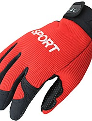 cheap -Sports Gloves Bike Gloves / Cycling Gloves Wearable Breathable Full-finger Gloves synthetic fibre Road Cycling Cycling / Bike Activity &
