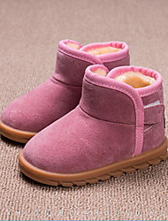cheap -Girls' Shoes Microfibre Winter Spring Bootie Fashion Boots Snow Boots Boots Booties/Ankle Boots Hook & Loop for Casual Outdoor Black