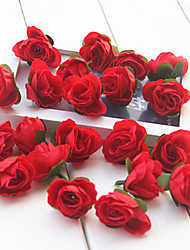 cheap -Artificial Flowers 20 Branch Modern Style Roses Tabletop Flower