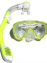 cheap -Diving Mask Diving Packages Snorkeling Packages Anti-Fog Universal Diving Beach Diving/Boating Watersports Silicon Rubber Tempered Glass