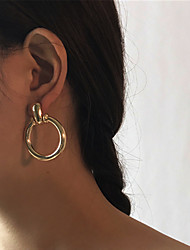 cheap -Women's Stud Earrings , Vintage Dresswear Alloy Circle Jewelry For Party Christmas