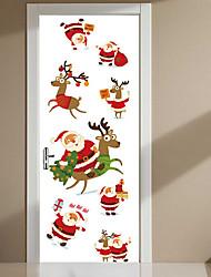 Christmas Animal Wall Stickers Plane Wall Stickers Decorative Wall Stickers,Vinyl Home Decoration Wall Decal Wall