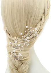 cheap -Imitation Pearl Hair Pin 4pcs Wedding Special Occasion Headpiece