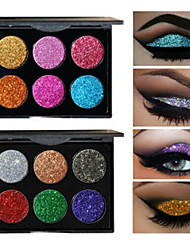 cheap -6 EyeShadow Formaldehyde Free Normal Shadow Powder Smokey Makeup Cateye Makeup Fairy Makeup Party Makeup Halloween Makeup Daily Makeup
