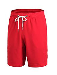 cheap -Men's Running Split Shorts Baggy Shorts Running/Jogging Wakeskating Polyester Loose Blue Green Red Dark Grey Yellow XXL XL L M S