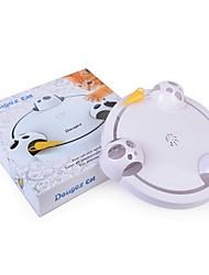 Недорогие -кошка игрушка собака игрушка животное игрушки интерактивные игрушки переменная скорость управления 360 ° вращение пластиковые для домашних