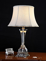 cheap -Crystal Crystal Table Lamp For Crystal 220-240V Khaki