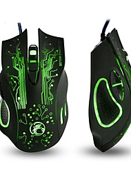 cheap -Colorful Breathing Lights Actually Wired Gaming Mouse X9 Computer Peripheral Glare