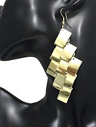 economico -Per donna Orecchini a goccia Orecchini a cerchio Vintage Di tendenza Gioielli importanti Lega Di forma geometrica Gioielli Serata Bar