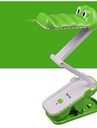 Luz Ambiente Simples Luminária de Escrivaninha Ajustável Interruptor On/Off Alimentação AC <36V Verde Azul
