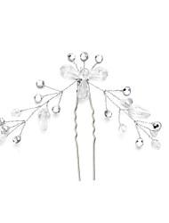 billige -Krystal / Rhinsten / Legering Hair Pin med 1pc Bryllup / Speciel Lejlighed Medaljon