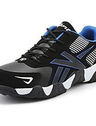 Pánské Obuv Syntetika Zima Podzim Pohodlné Atletické boty Chůze pro Sportovní Ležérní Červená Modrá