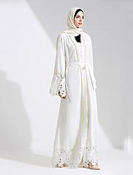 preiswerte -Mode Einteilig Kleid Frau Fest / Feiertage Halloween Kostüme Weiß Solide