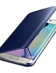 Недорогие -Кейс для Назначение Huawei P9 Huawei P9 Lite Huawei Huawei P8 Lite P10 Lite Mate 10 Покрытие Зеркальная поверхность Чехол Сплошной цвет