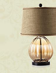 billige -Kunstnerisk Øjenbeskyttelse Bordlampe Til Glas Brun