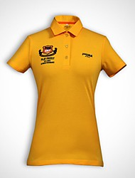 Per donna Manica corta Golf T-shirt Top Allenamento Traspirabilità Golf