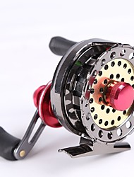 cheap -Fishing Reel Fly Reel / Carp Fishing Reels / Ice Fishing Reels 2.6:1 Gear Ratio+7 Ball Bearings Right-handed / Left-handed Fly Fishing / Bait Casting / Ice Fishing - REIZE528 / Freshwater Fishing