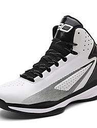 preiswerte -Unisex-Sneaker-Lässig-PU-Flacher Absatz-Komfort-Schwarz Rot Weiß