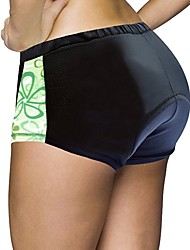 cheap -ILPALADINO Cycling Shorts Women's Bike Padded Shorts/Chamois Shorts Bottoms Bike Wear Quick Dry Anatomic Design Wearable Sweat-Wicking