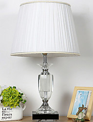 cheap -Crystal Crystal Table Lamp For Crystal 220-240V Ivory