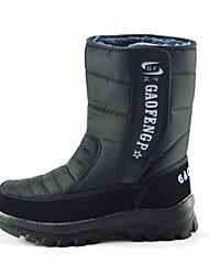 Homens Botas de Neve Botas de inverno Pele Exercicio Exterior Esportes de Neve Esportes de Inverno Sapatos de Neve Vestível Esportes de