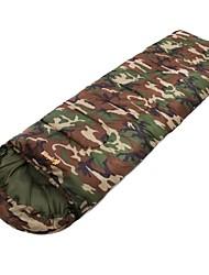 cheap -Sleeping Bag Envelope / Rectangular Bag 10°C Keep Warm Windproof Wearable 220X75 Camping / Hiking / Caving Camping & Hiking Outdoor Single