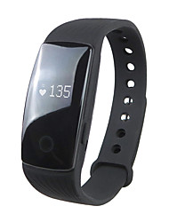 cheap -Smartwatch ID107 for iOS / Android Heart Rate Monitor / Calories Burned / Long Standby / Touch Screen / Water Resistant / Water Proof Sleep Tracker / Find My Device / 64MB / Pedometers / 350-400
