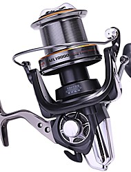 cheap -Fishing Reel Trolling Reel Spinning Reel 4.7:1 Gear Ratio+11 Ball Bearings Hand Orientation Exchangable Sea Fishing Bait Casting Ice