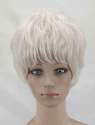 cheap -Synthetic Wig Curly Blonde Layered Haircut Synthetic Hair Blonde Wig Women's Short Capless