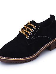 cheap -Women's Shoes PU(Polyurethane) Spring / Summer Comfort / Gladiator / Light Soles Sandals Flat Heel Open Toe Rivet Black / Red / Green
