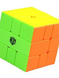 Rubiks terning Warrior Let Glidende Speedcube Magiske terninger Kvadrat Gave