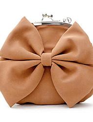 cheap -Women Bags PU Shoulder Bag Bow(s) for Casual All Season Brown Black