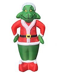 Недорогие -Отпуск Костюмы Санта Клауса Праздничная бижутерия Товары для Рождественской вечеринки Рождество Хэллоуин Карнавал День детей Новый год