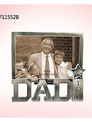 cheap -Non-personalized Metalic Photo Frames Parents Congratulations Thank You